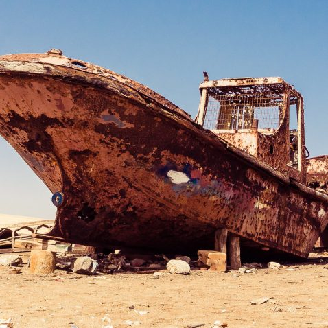 Abandoned Ship, Sal Island, Cape Verde