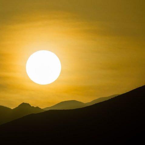 Sunset on Sao Vicente Island, Cape Verde