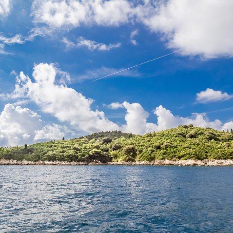 The island of Lokrum, near Dubrovnik, Croatia