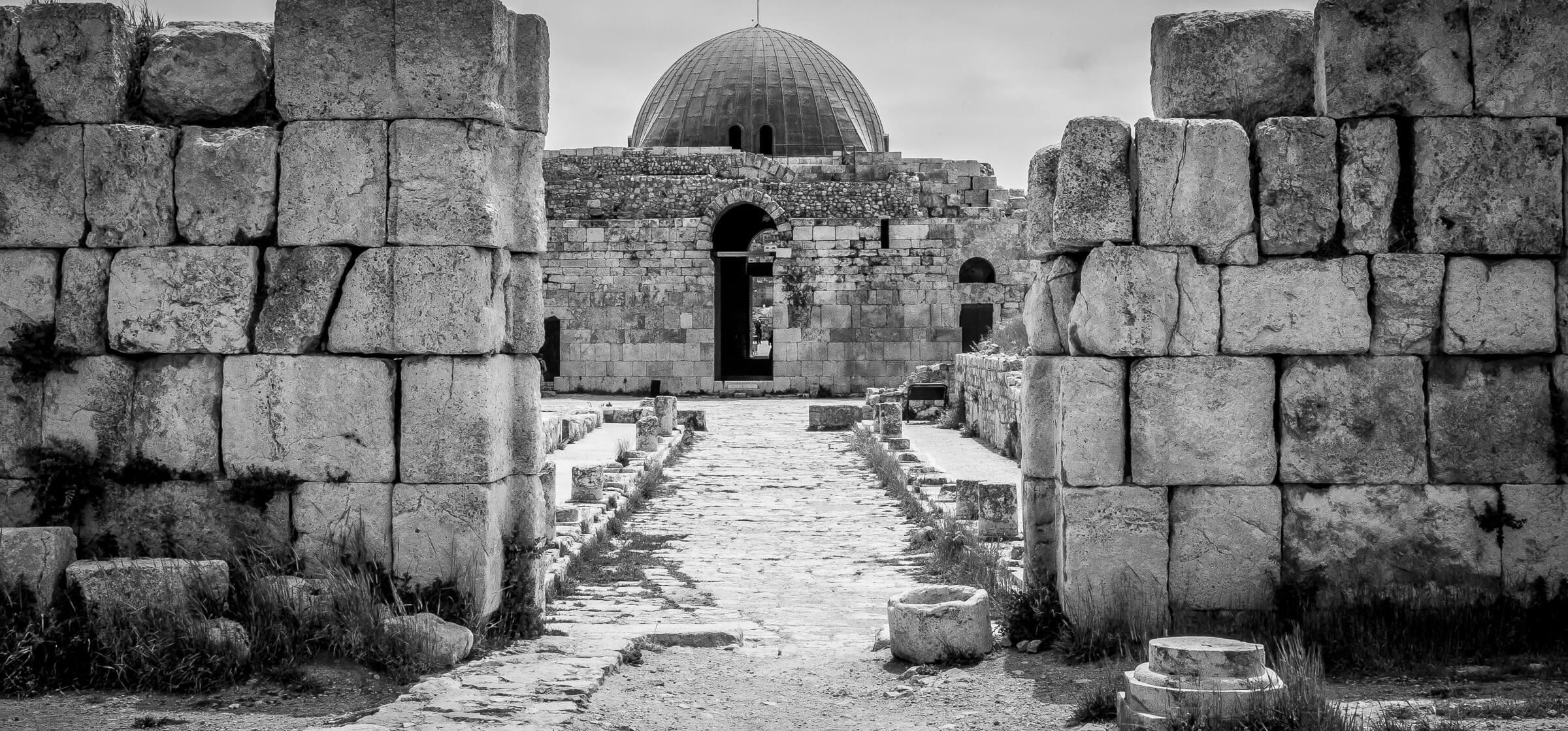 Umayyad Palace, Citadel, Amman, Jordan