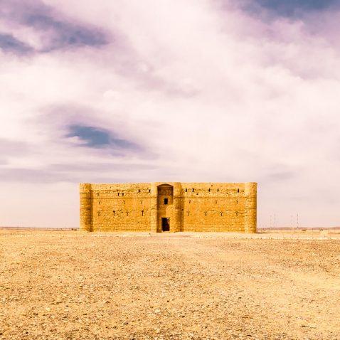 Qasr Kharana, the Desert Castle, Amman, Jordan