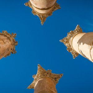 Roman Temple Columns, Jerash, Jordan