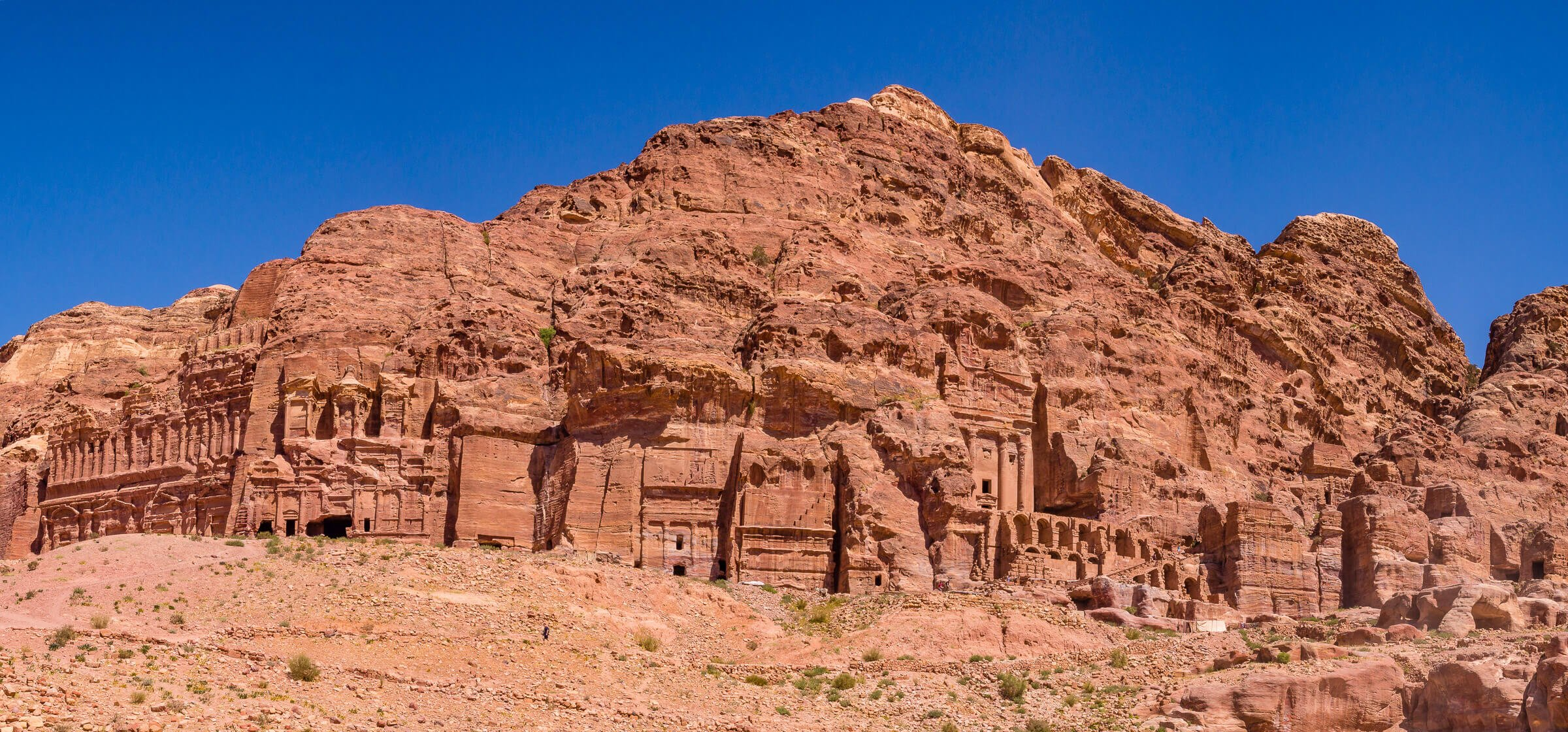 Tombs, Petra, Jordan