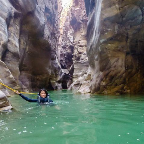 Wadi Mujib, Siq Trail, Jordan