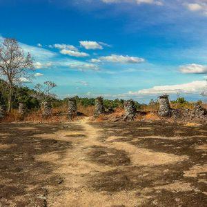 Ruins of the Wat Phou Asa Temple, Near the Kingfisher Ecolodge, Laos
