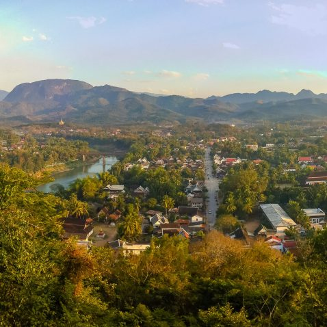 Panorama of Luang Prabang, Laos