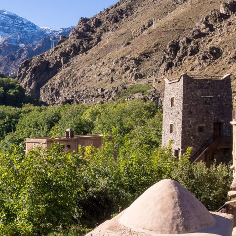Kasbah du Toubkal, Atlas Mountains, Morocco