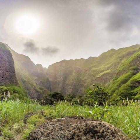 Ra de Neve Waterfall, Santo Antao Island, Cape Verde