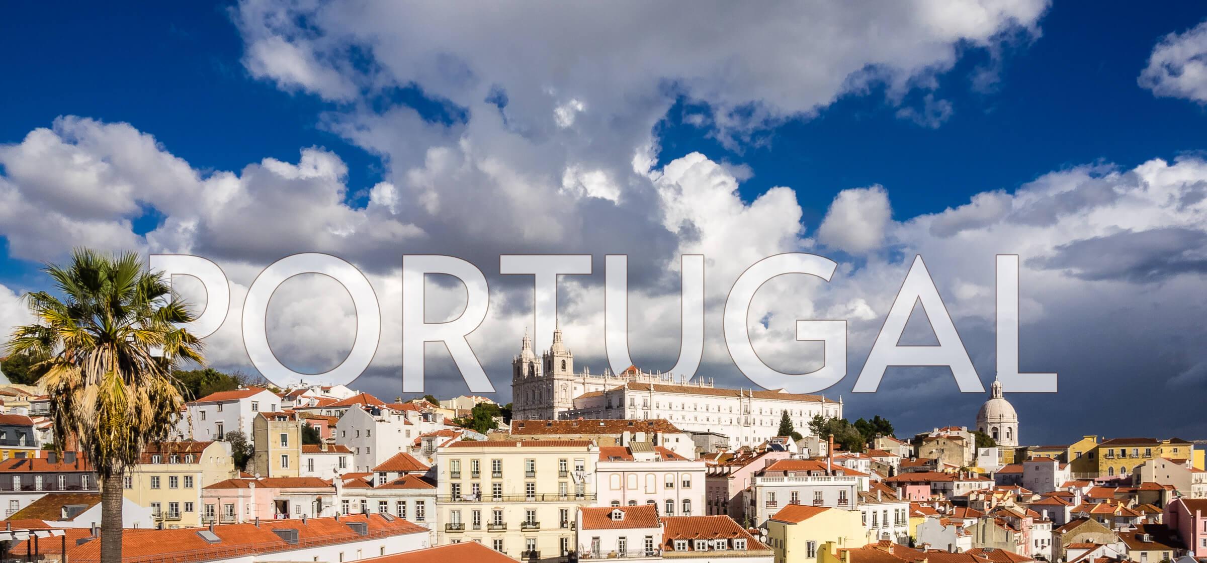 the neighbourhood of Alfama, in Lisbon, Portugal