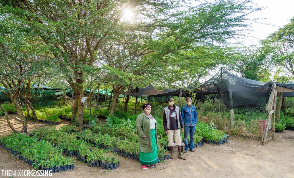 Basecamp conservation green belt movement replanting effort in the Masai Mara