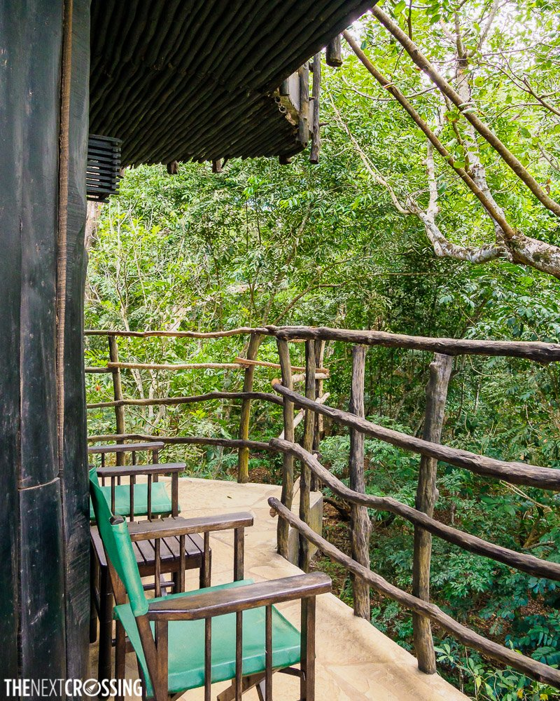 the balcony of the shimba hills lodge suite