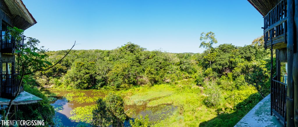 Shimba Hills Lodge view panorama