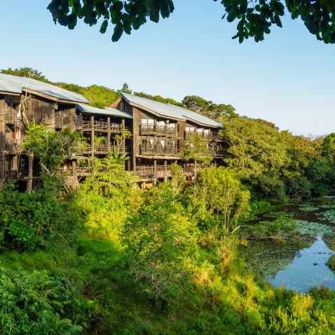 Shimba Hills Lodge panorama