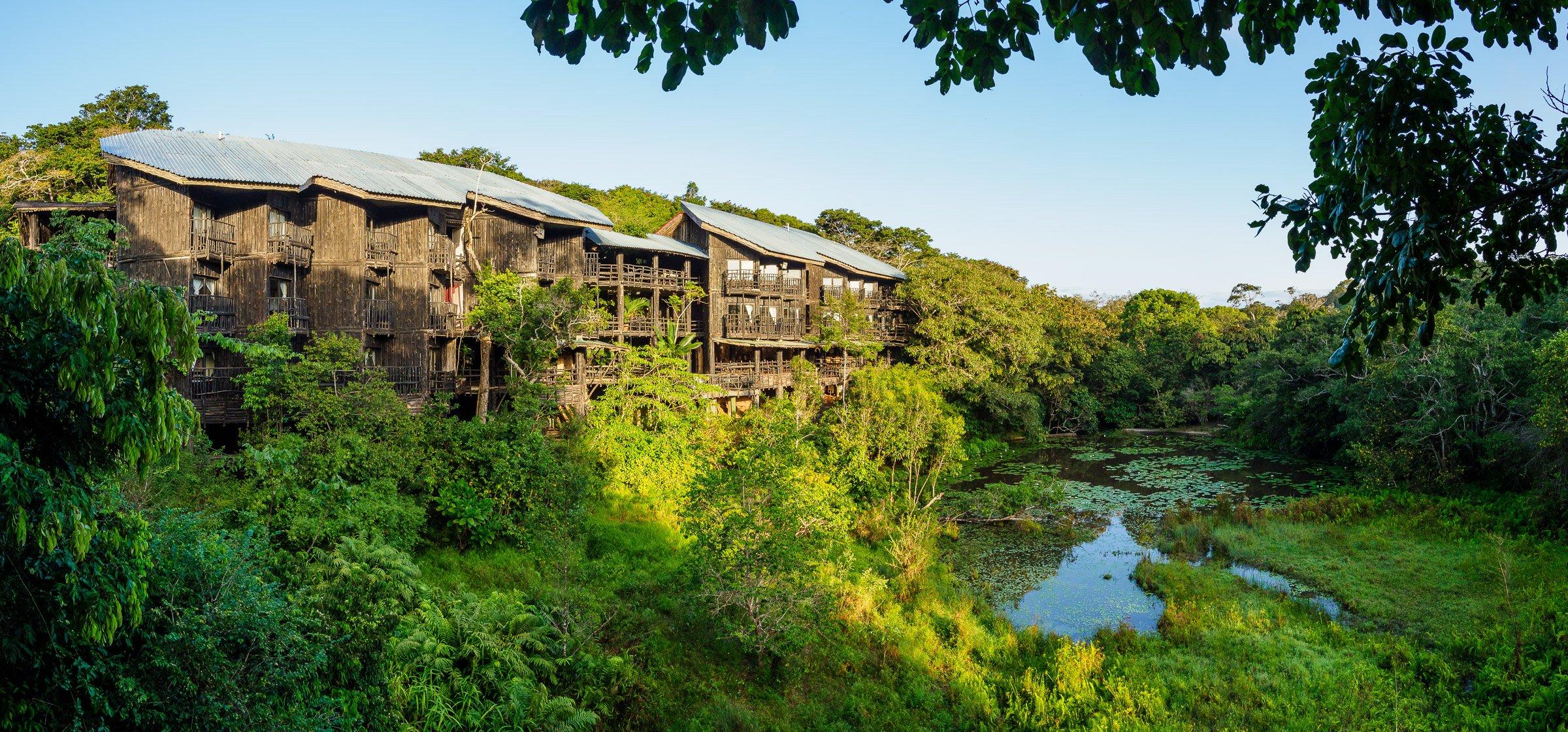 Shimba Hills Lodge panorama